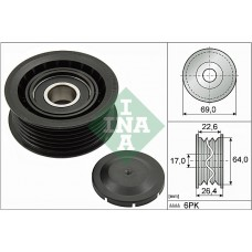INA Deflection/Guide Pulley